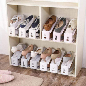Double-layer Adjustable Shoe Rack