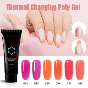 Thermal Changing Poly Gel Set