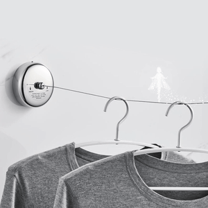304 Stainless Steel Wall-mounted Invisible Clothesline