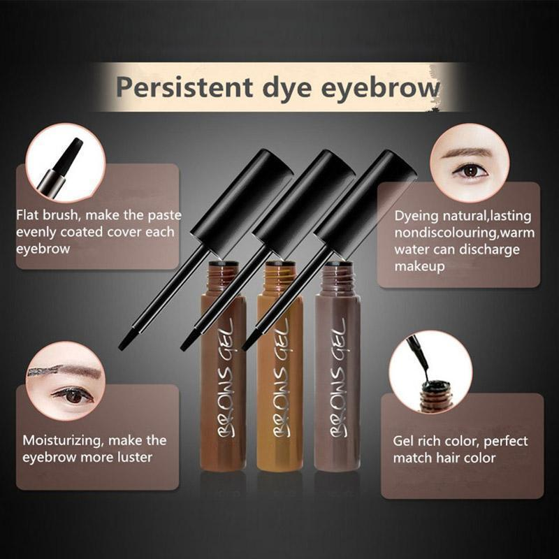 Waterproof Dye Eyebrow Cream(50% OFF)