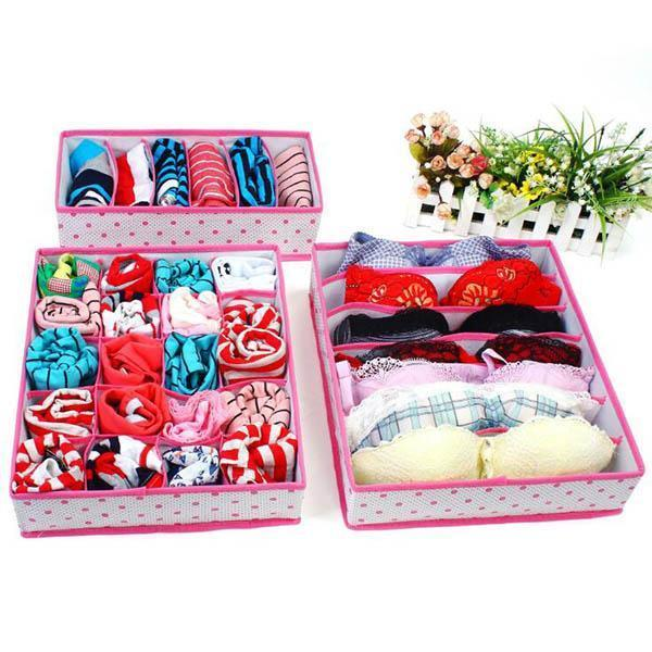 Folding Underwear Storage Box