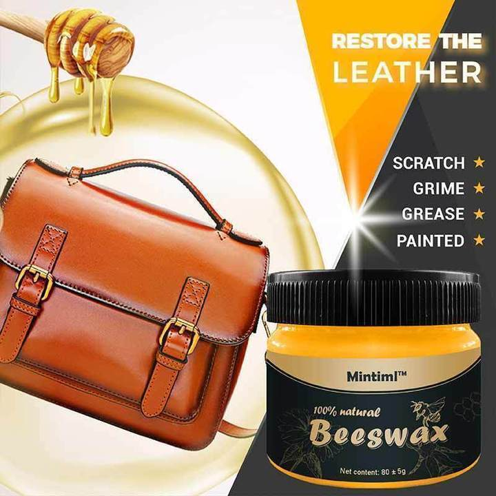 Leather & Household polishing beeswax
