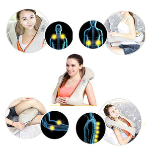 Shiatsu Cervical Back and Neck Electric Roller Car Massage Machine