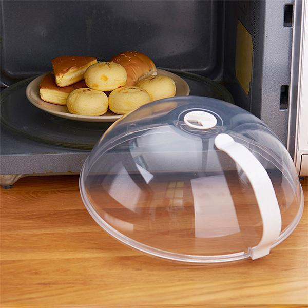 Anti-Splatter Microwave Food Cover