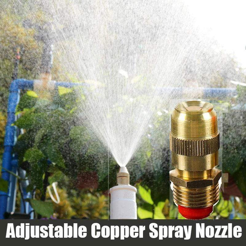 Adjustable Copper Spray Nozzle (2 pcs)