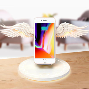Angel Wings Wireless Phone Charger Stand