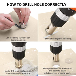 Diamond Hole Drill Bit Set