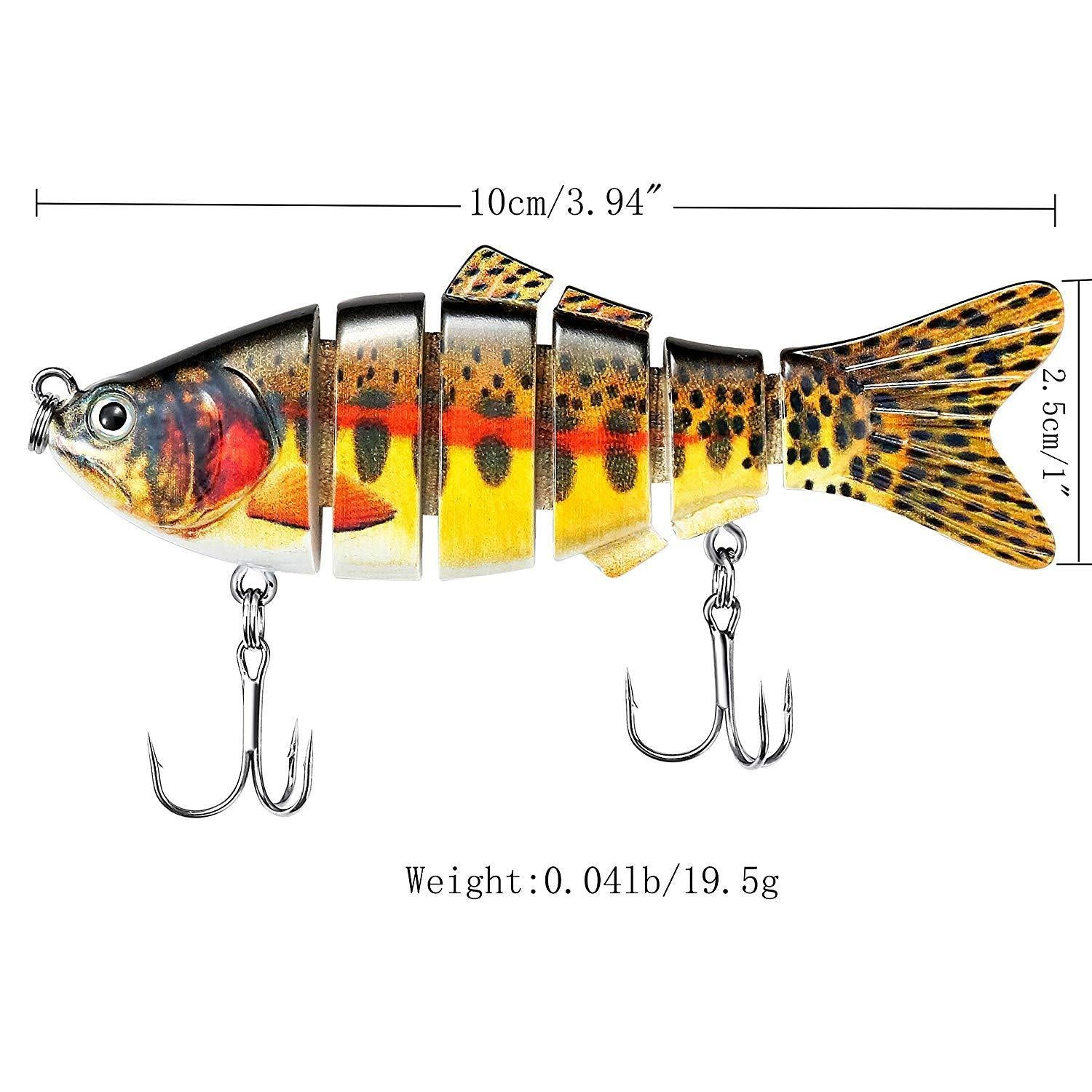 Fishing Lure With 2 Hook Fishing Baits