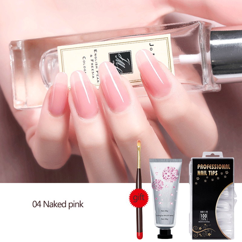 UV Extension Nail Poly Gel Hard Jelly Builder Manicure Tool