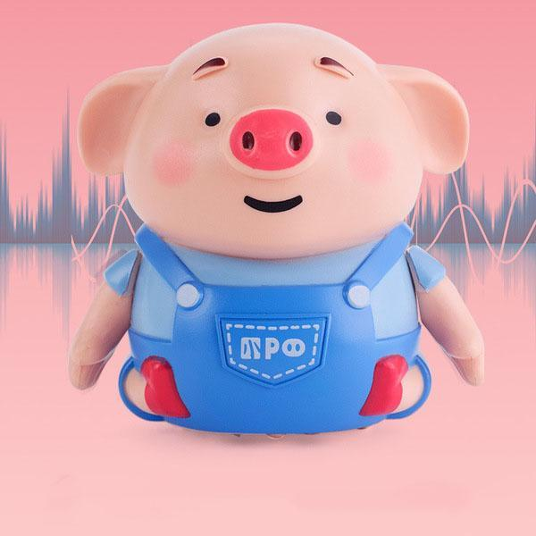 Line Sense Follows The Pig
