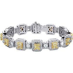 Crown Jewel Diamond Tennis Bracelet - 15.88 ctw.