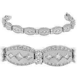 Medieval Diamond Tennis Bracelet