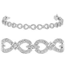 Infinity Diamond Tennis Bracelet