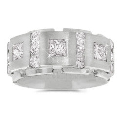 Luxury Chain Link Men's Diamond Band -1.50 ctw.