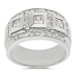 Luxury Casino Link Men's Diamond Band - 2.10 ctw.