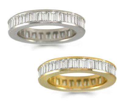 Baguette Diamond Eternity Band - 2.15 ctw.