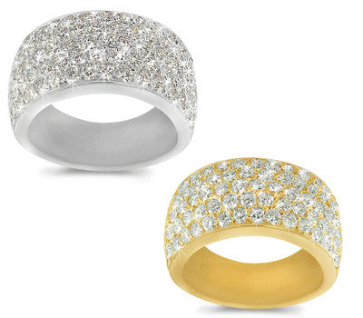 Pave Diamond Band - 2.75 ctw.