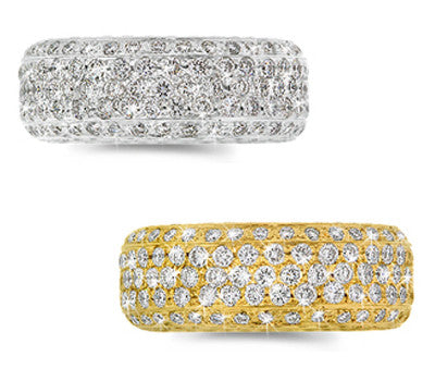 Diamond Eternity Ladies Ring - 3.10 ctw.