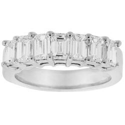 Wide Asscher-Cut Diamond Band - 5.00 ctw.