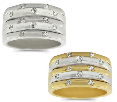 Orbital Diamond Ring - 0.25 ctw.