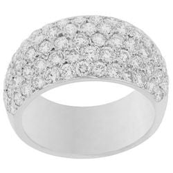 Pave Diamond Ring - 2.15 ctw.