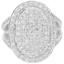 Oval Heirloom Diamond Ring - 1.95 ctw.