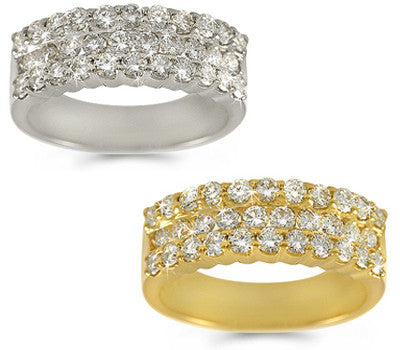 Shimmering Round Diamond Band - 1.43 ctw.