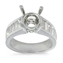 Channel Set Baguette Diamond Ring - 1.00 ctw.