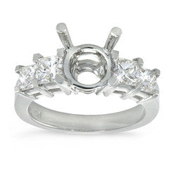 Princess Prong Set Diamond Ring - 1.30 ctw.