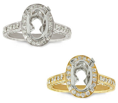 Past Era Oval Diamond Ring - 1.15 ctw.