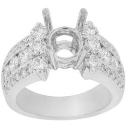 Royal Three Diamond Ring - 1.70 ctw.