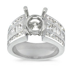 Exquisite Channel Set Diamond Ring - 1.70 ctw.