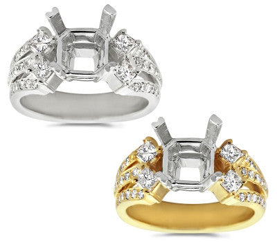 Bold and Elegant Diamond Ring - 0.75 ctw.