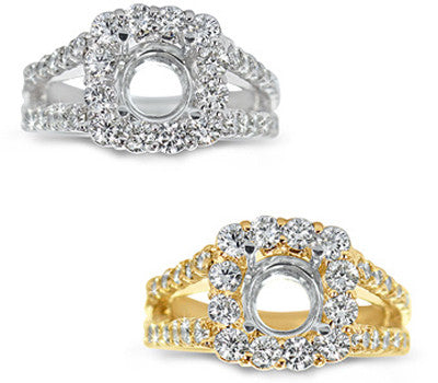 Elegant Prong-Set Round Diamond Ring - 1.30 ctw.