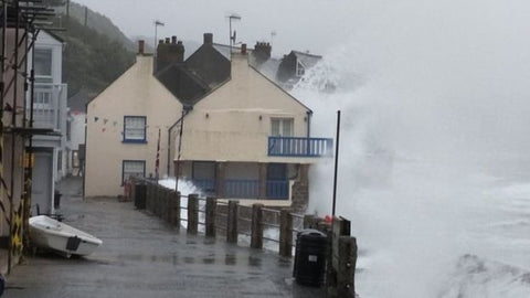 Storm Callum hits Northeastern UK