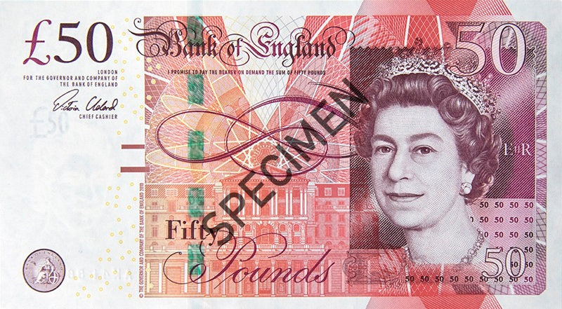 There is to be a new £50 note!