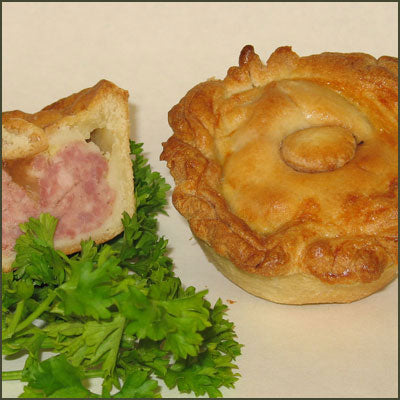 4&20 Pasty Company TRADITIONAL PORK PIES (Twin Pack)