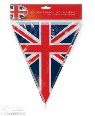 Union Jack Bunting PVC Flags