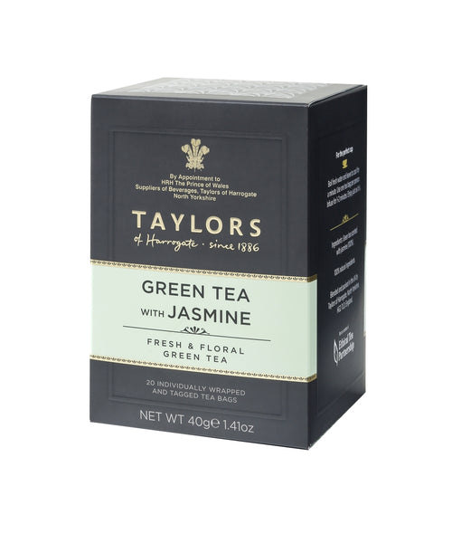 Taylors - Green Tea with Jasmine - 20 Wrapped Tea Bags