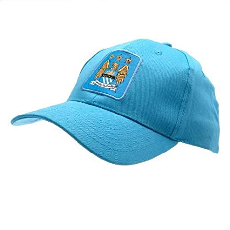 MANCHESTER CITY FC-Official EPL Light Blue Baseball Cap