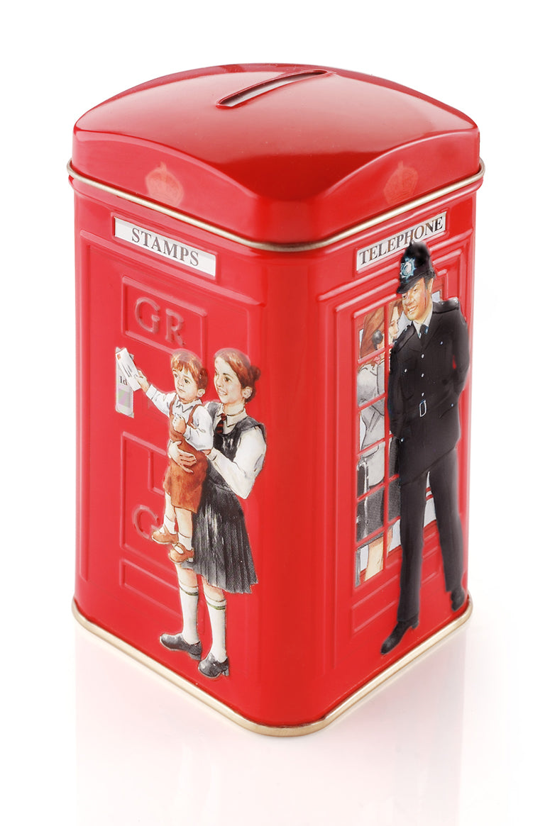 Ahmad Tea Telephone Box Tin