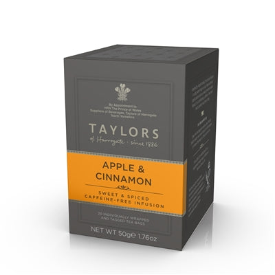 Taylors - Apple and Cinnamon - 20 Wrapped Tea Bags