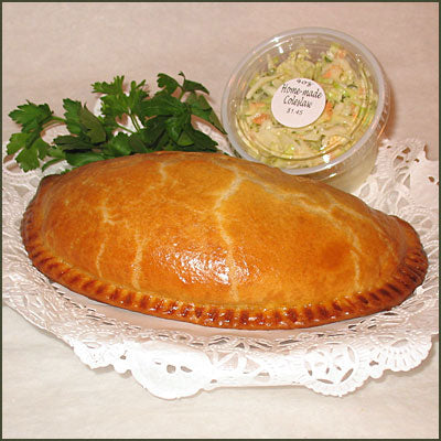 4&20 Pasty Company  CHEESE & ONION Pasty 7 oz