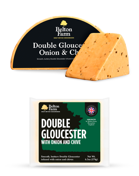 Double Gloucester Onion and Chive 8oz