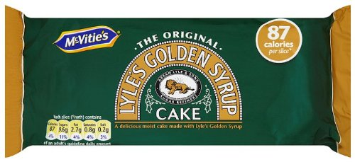 McVities Golden Syrup Cake 150g