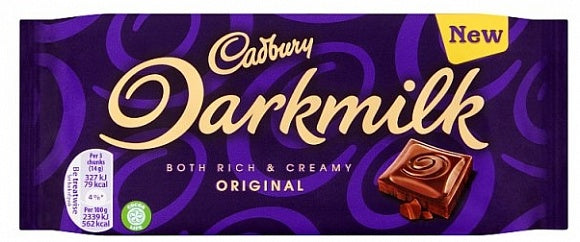 Cadbury Dark Milk 85g