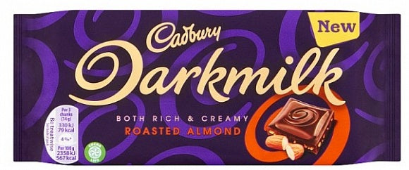 Cadbury Dark Milk Almonds 85g