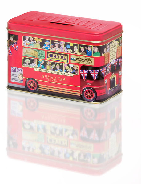 Ahmad Tea London Bus Tin