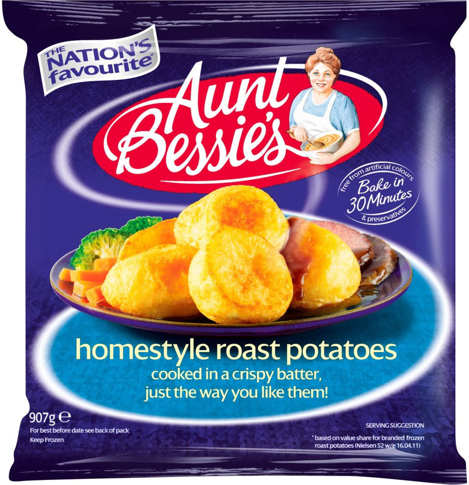Aunt Bessie's Roast Potatoes