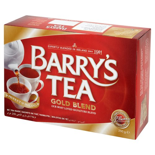 Barrys Gold Teabags 80s - The British Pedlar
